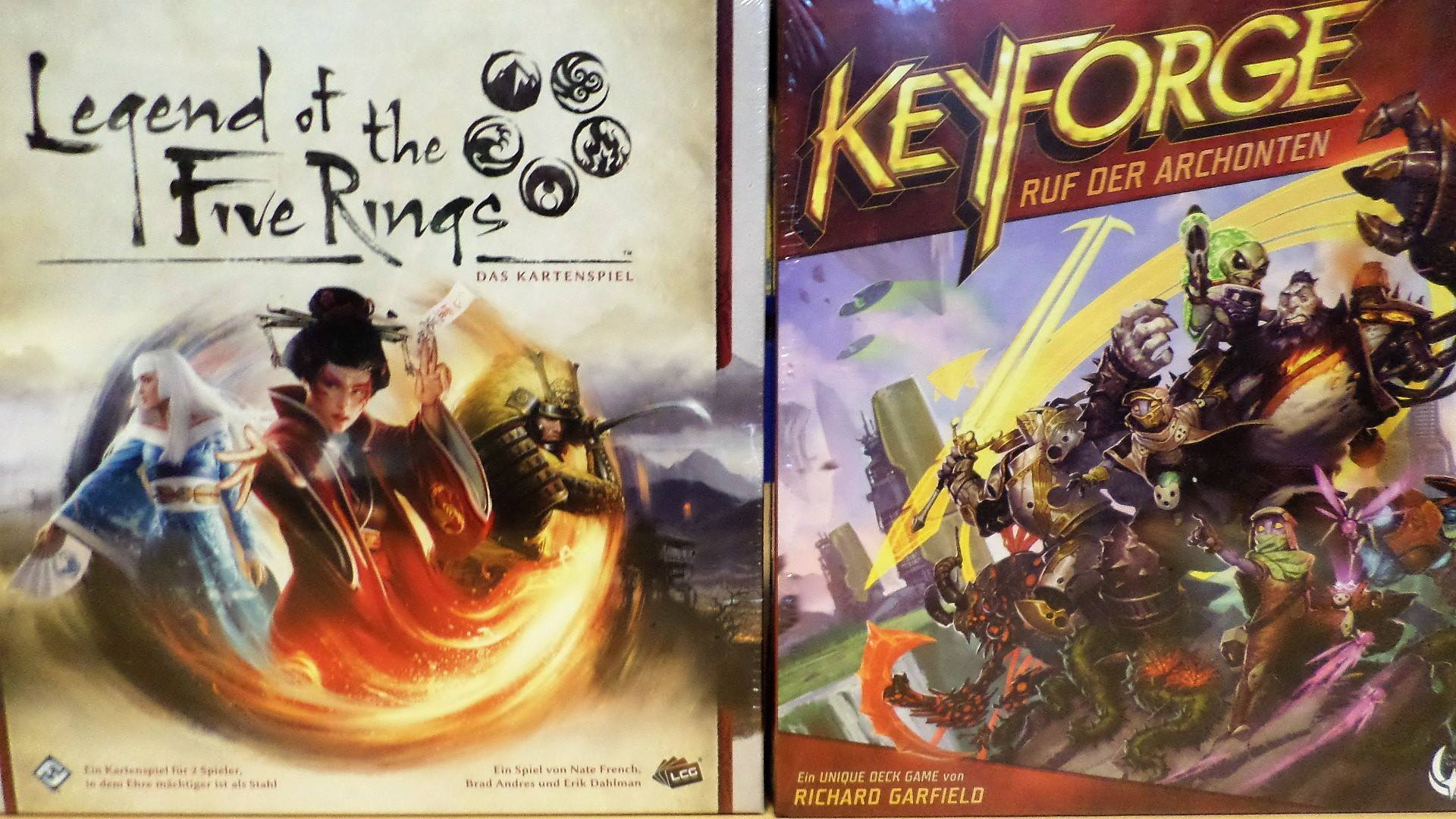 Legend of the Five Rings und Keyforge