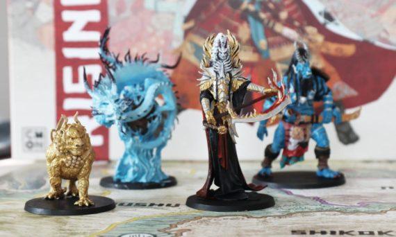 Miniaturen bemalen von Rising Sun