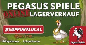Pegasus Spiele Online-Lagerverkauf