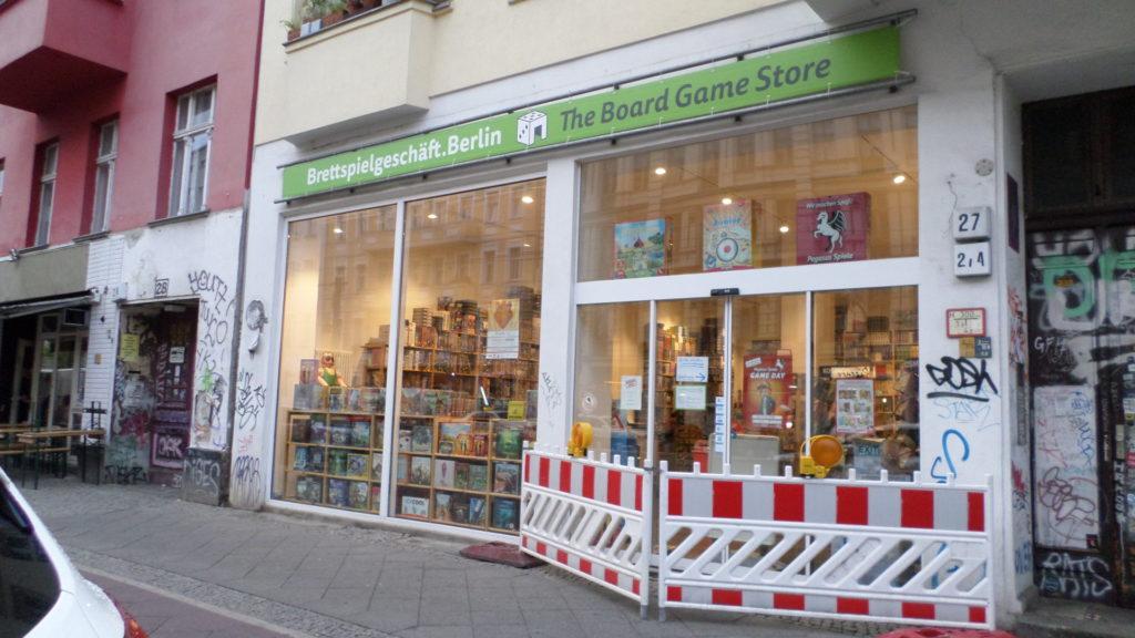 Brettspielgeschäft.Berlin geschlossen