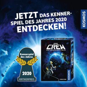 Die Crew - Kennerspiel des Jahres 2020 Ausgespielt 2020! Ein Blick zurück