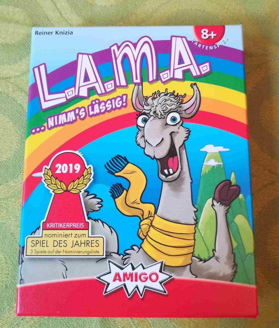 L.A.M.A. ...nimm's lässig!