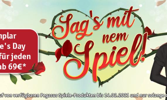 Valentinstag-Special mit Pegasus Spiele
